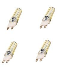 5W G9 Ampoules Maïs LED T 104 SMD 3014 600 lm Blanc Froid AC 100-240 V 4 pièces