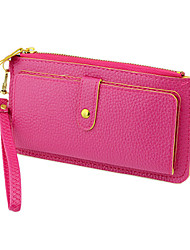 2014 Fashion Design Consice Leisure Style PU Leather Wallet