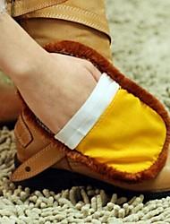 Multifunction Soft Imitation Wool Cleaner Shoe (Random Color)