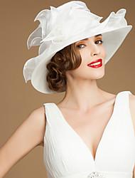 Women's Organza Headpiece - Wedding/Special Occasion/Casual/Outdoor Hats