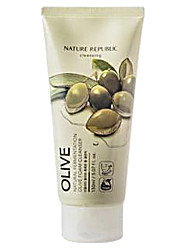 Nature Republic Foam Cleanser (Olive)