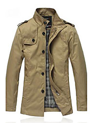Men'S Washed Cotton Jacket
