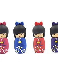 32GB Cartoon Japanese Doll USB 2.0 Flash Pen Drive