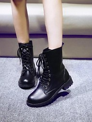 Women's Shoes Fashion Boots Chunky Heel Mid-Calf Boots