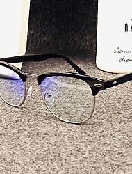 [lentes livres de metal] browline full-jante óculos de computador prescrição retro