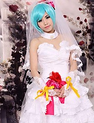 Inspired by Vocaloid Hagane Miku Cosplay Costumes