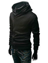 Korean Long Sleeve Short Type Hoodie Coat