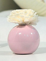 décoration de la maison mauve aromathérapie petit vase ronde coffret cadeau de l'huile essentielle de diffuseur
