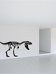 decalques de parede adesivos de parede, citações de dinossauros de decoração de parede mural pvc etiquetas
