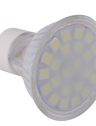 4W GU10 LED Spotlight MR16 24 SMD 5050 360 lm Cool White AC 220-240 V
