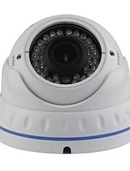 cctv 2.8-12mm varifocal IR a prueba de vandalismo cámara domo de 1/4 CMOS 800tvl con IRCUT 30m ir cubierta xv-v802v8