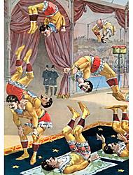 acrobates professionnels store à enroulement