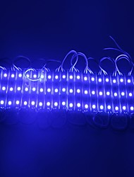 IP65 Waterproof 0.6W 5050SMD Blue Light LED Module Hard Strip Bar Light Lamp (DC 12V, 20pcs)