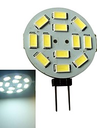 G4 3 W 12 SMD 5630 250-270LM LM Natural White Spot Lights DC 12 V
