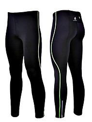 WOLFBIKE Bike/Cycling Pants/Trousers/Overtrousers / Tights / Compression Clothing Men's Compression / Reflective Strips / StretchSpandex