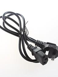 1,2 m cabo de alimentação cabo de alimentação do ganso-wire cabo de alimentação de três fios