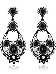 Boucles d'oreille goutteBijoux 1set Doré Cristal / Alliage / Imitation de perle / Agate / Gemme / Résine / StrassMariage / Soirée /