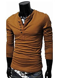 IAA Men's Long Sleeve Leisure Shirts