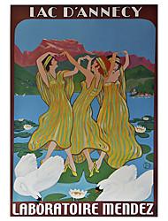tre donne danzanti ombra Rullo