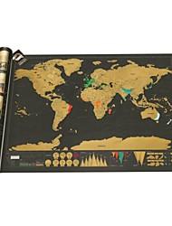 lujo cero mapa del mundo