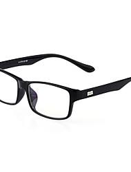 [Free Lenses] PC Rectangle Full-Rim Fashion Prescription Eyeglasses