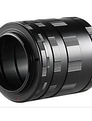 POPLAR Extension Tube/Ring Set for Nikon SLR/DSLR Cameras (Black)