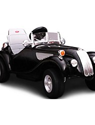 Child Electric Ride on Car Four Wheels Retro Style Classic Car for Kids