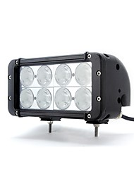 dy-sc4080 80w 6000k 6800lm hohe Intensität 8-CREE LED Weißlichtstrahl Combo Offroad-Lampe (10-60v DC) (schwarz)