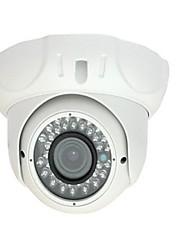 2.8-12mm varifocal CCTV IR a prueba de vandalismo cámara domo de 1/4 CMOS 700TVL con IRCUT 30m ir cubierta xv-v806s7