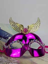 Women's Fashion Wing Carnival Party Mask(Random Color)