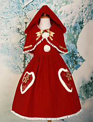 Jingle Bell and Gingerbread Men Sweet Lolita Christmas Costume