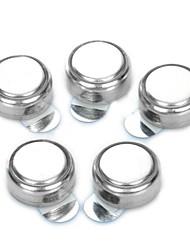 batteries de 600mAh aide zinc audience d'air A675 de 1.4V set - argent (5 pièces)