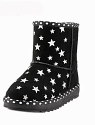 Girls' Shoes Snow Boots Flat Heel Mid-Calf Boots with Waterproof More Colors available
