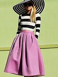 Women's Fashion  Print Suit  (T-shirt & Skirt)