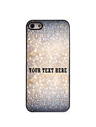 Personalized Phone Case - Sparkle Design Metal Case for iPhone 5/5S