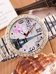 Wanbao Women's Classic Diamonade Bracelet Watch