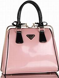 Women's Classic Paint Steel Clip Shape Portable Handbags