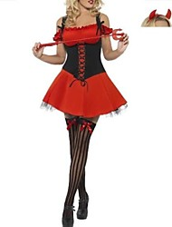 le costume de diable d'anges sombres femmes