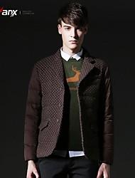 Genanx®Men's suit fashion wave point down jacket Y040