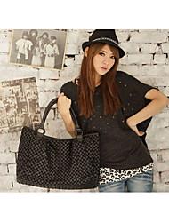 Handcee Women's Korean Fashion Causal Single Shoulder Handbag