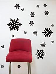 стикеры стены наклейки на стены, современный снежинка наклейки стены PVC