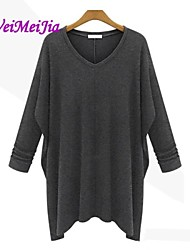 Women's Black/Gray Dress , Casual Long Sleeve