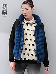Toyouth ® 2014 new winter hooded casual thickened vest cotton