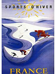 skieurs sur le rouleau de montagne ombre