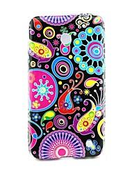 Для Кейс для Nokia С узором Кейс для Задняя крышка Кейс для Цветы Мягкий TPU Nokia Nokia Lumia 630