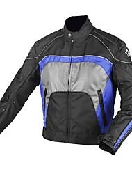 à prova de vento jaqueta de motoqueiro de homens duhan® com forro de algodão destacável (mais cores)