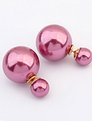 Women's Elegant Pearl Earrings