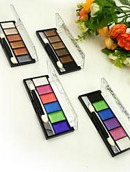 6 Eyeshadow Palette Dry Eyeshadow palette Powder Normal Party Makeup
