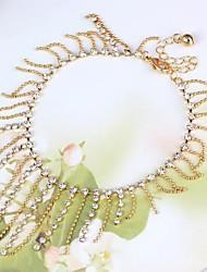Legering Dames Enkelring Armbanden Bergkristal