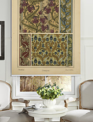 Flowers Of Dandelion Pattern Roller Shade